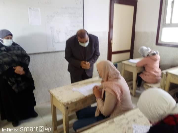 وكيل تعليم مطروح: الامتحان المجمع في مستوى الطالب المتوسط