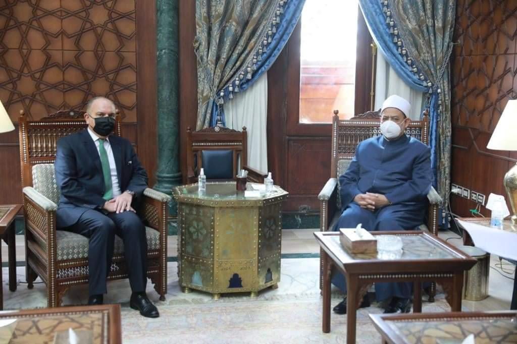 الإمام الأكبر يهنئ الملك عبد الله الثاني بمناسبة مرور ١٠٠ عام على تأسيس المملكة الأردنية