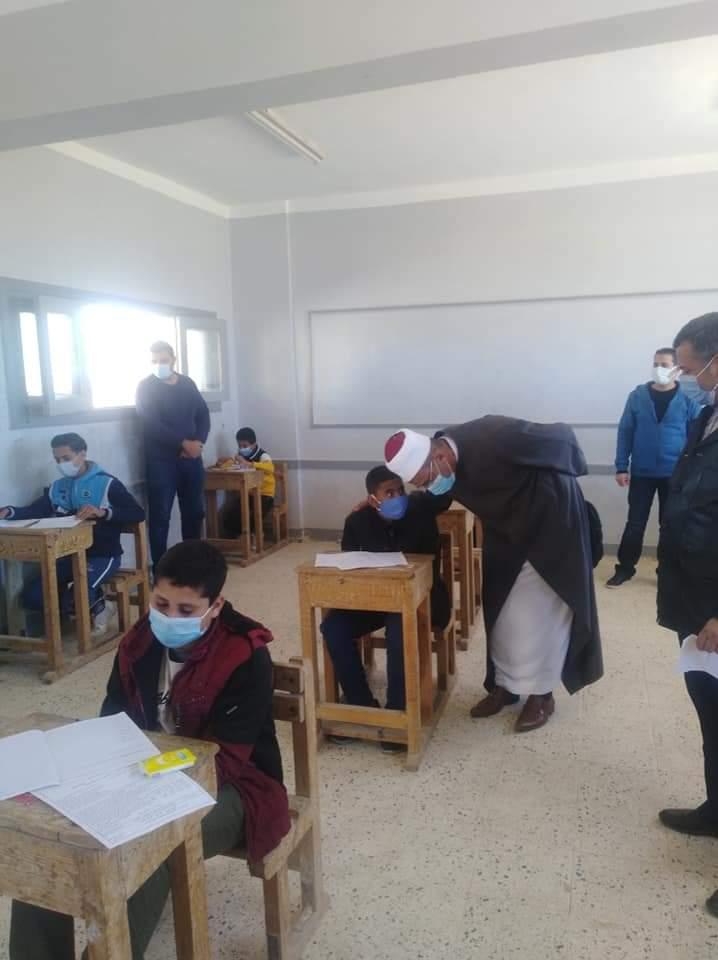 حالة من الانضباط والهدوء تسود أجواء امتحانات الأزهر في جنوب سيناء