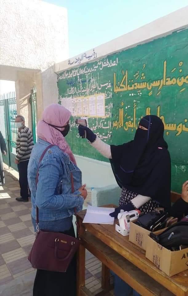 أزهر سيناء يضرب أروع الأمثلة في الانضباط والالتزام وخروج الامتحانات على الوجه الأمثل