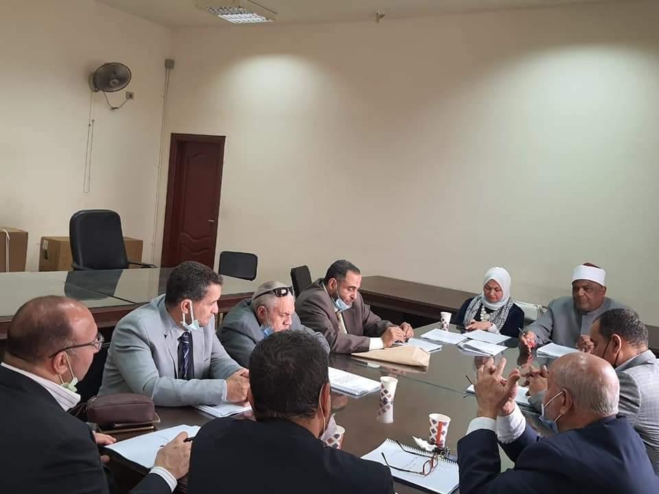 الصعيدي وعباس شومان يجتمعان لوضع ضوابط إجراءات تسجيل رسائل الماجستير قسم الشريعة بالأزهر