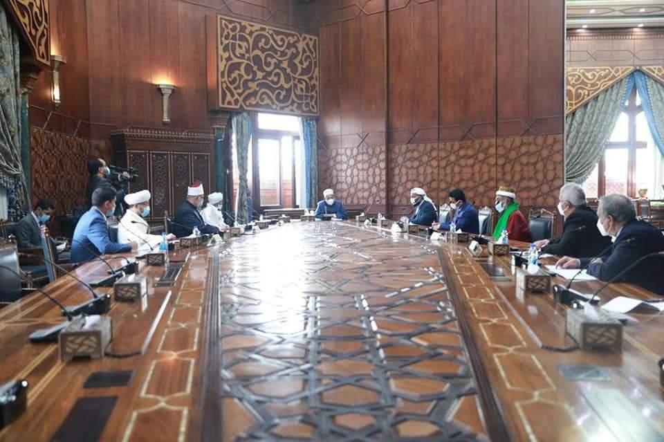 الإمام الأكبر: الأزهر لن يتأخر في دعم قضايا الأمة وتلبية احتياجاتها العلمية والفكرية