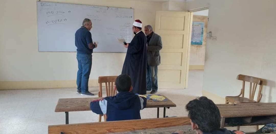رئيس منطقة المنوفية الأزهرية يتفقد سير العملية التعليمية بمعاهد المنطقة