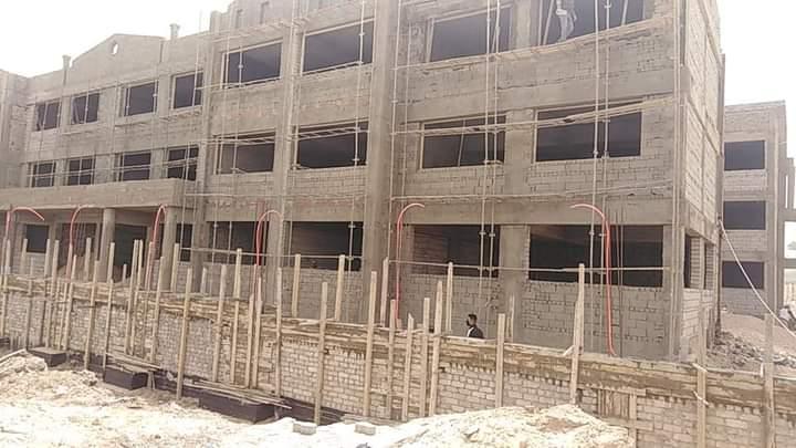 قبل افتتاحها.. وكيل التعليم بشمال سيناء يعاين مبنى المدرسة اليابانية