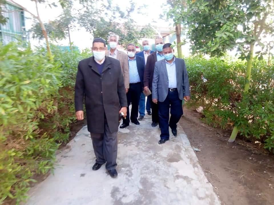 رئيس منطقة البحر الأحمر الأزهرية يتفقد سير امتحانات شهر مارس