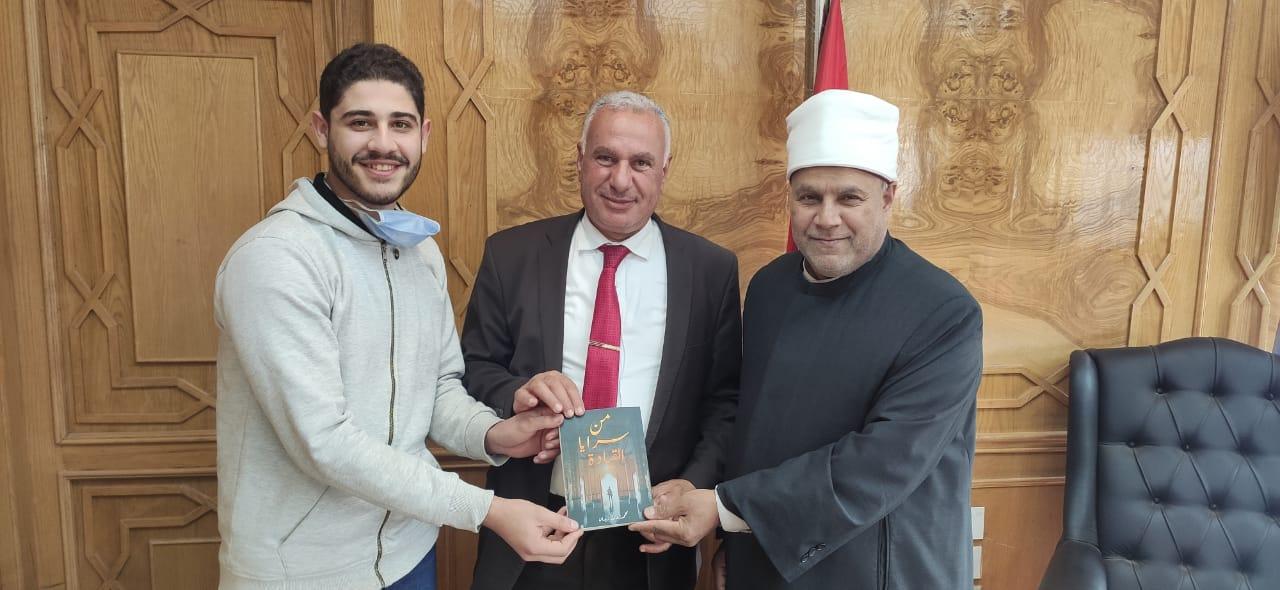 نائب رئيس جامعة الأزهر: طالب كلية الهندسة الزراعية نموذج يحتذى به علميًّا وخلقيًّا