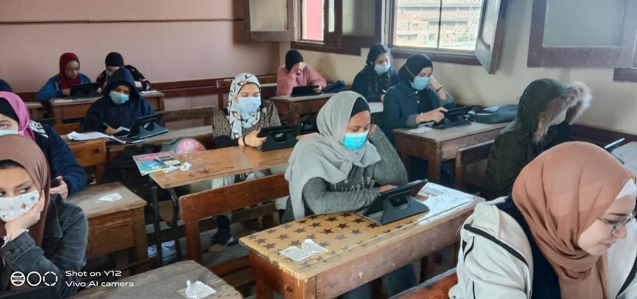 """""""الجيار"""" يتابع اليوم الختامى لامتحانات الصف الثانى الثانوى بغرفة العمليات في الجيزة"""