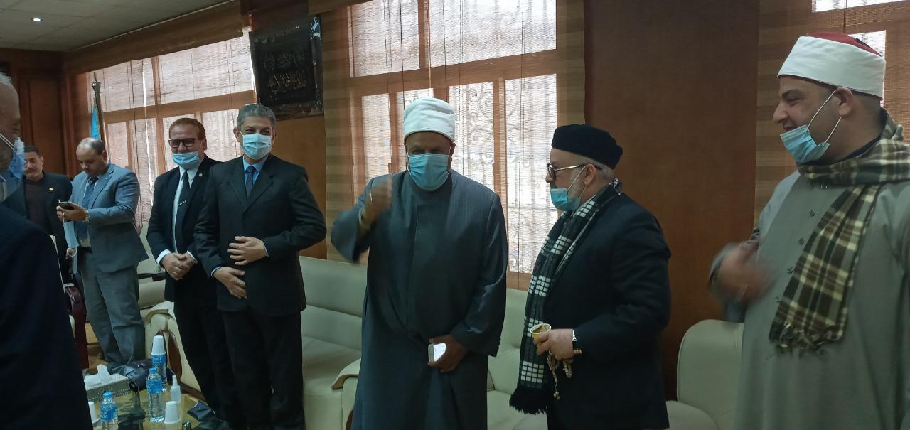 الأمير يفتتح مؤتمر تجديد العلوم العربية والإسلامية بين الأصالة والمعاصرة نائبا عن رئيس جامعة الأزهر