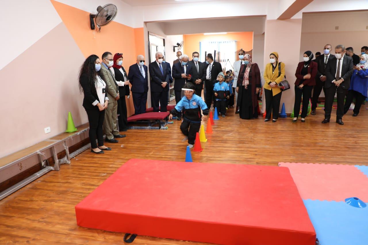 بالصور.. افتتاح المدرسة المصرية اليابانية بشرم الشيخ