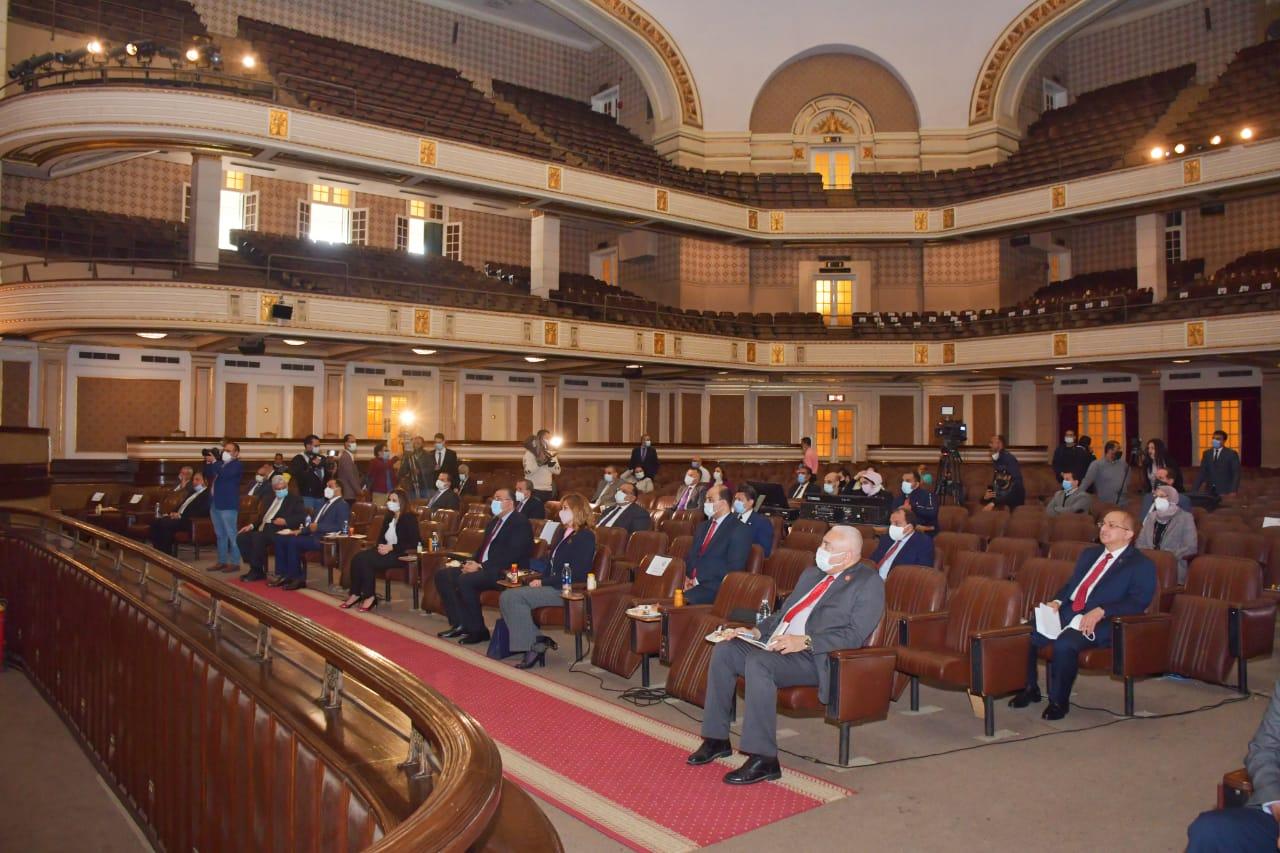 الأعلى للجامعات يوافق علي تخصيص 20 منحة من جامعة السادات لطلاب دول حوض النيل