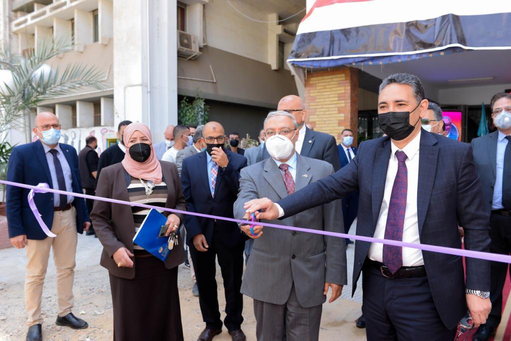 افتتاح وحدة الأشعة المقطعية وعيادات طب الفم والأسنان بجامعة طنطا