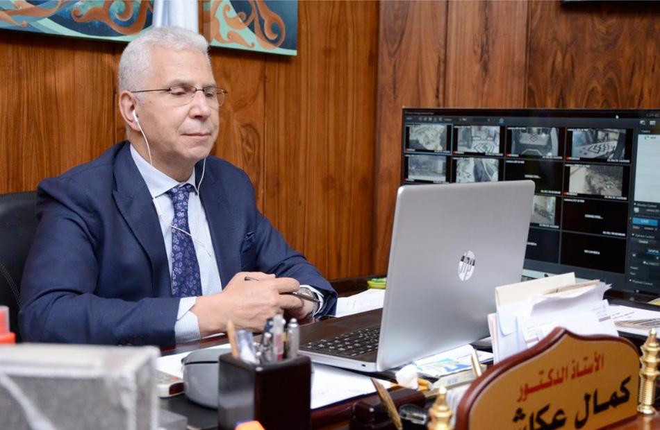 تشكيل لجنة لتطوير البرامج البينية للتخصصات العلمية بجامعة طنطا