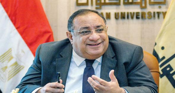 ماجد نجم يترشح لرئاسة جامعة حلوان