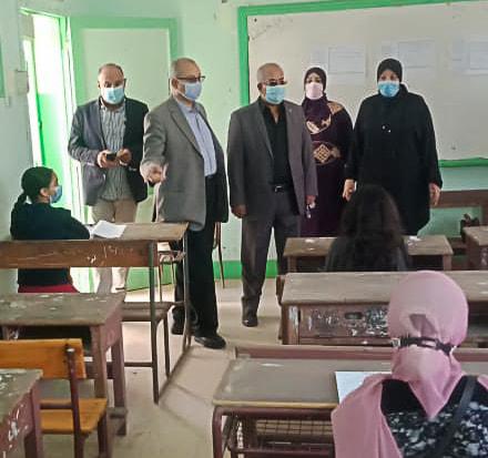 نبوي باهي: التشديد على اتباع الإجراءات الاحترازية وتطهير المدارس يوميا عقب الإمتحانات