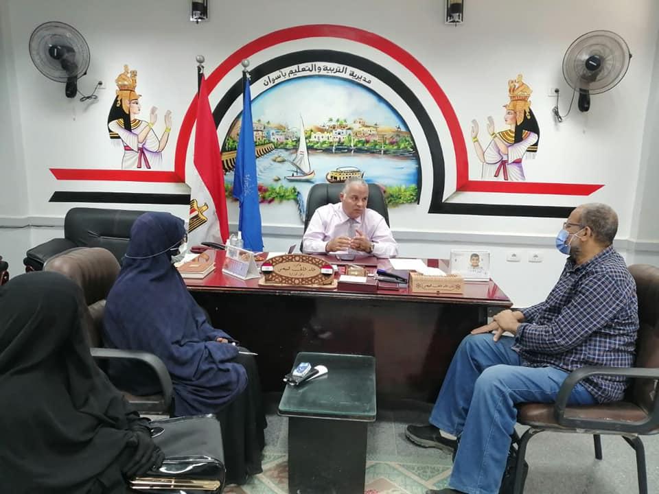 قبيصي: إنشاء قاعدة بيانات شاملة لمديرية تعليم أسوان