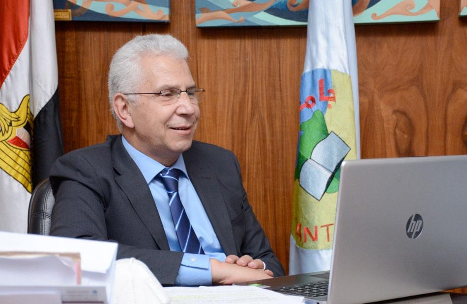 نائب رئيس جامعة طنطا: وسائل حديثة لقياس مخزون الحديد في الدم لمرضى الفشل الكلوي