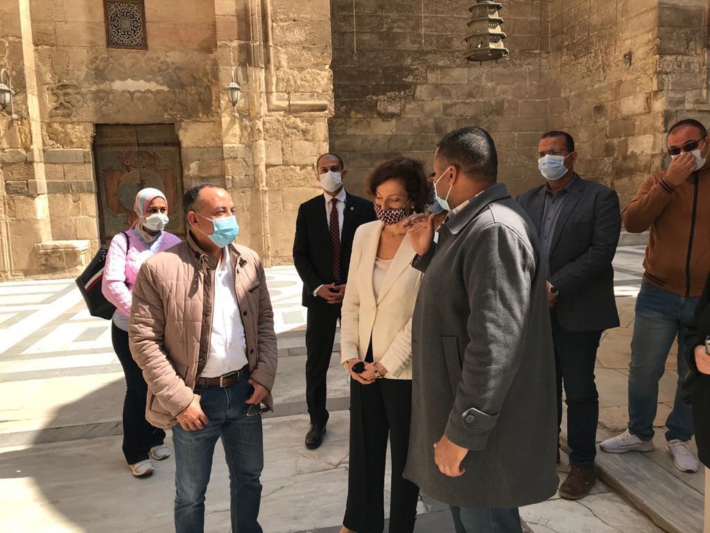 مدير عام منظمة اليونسكو تزور القاهرة التاريخية