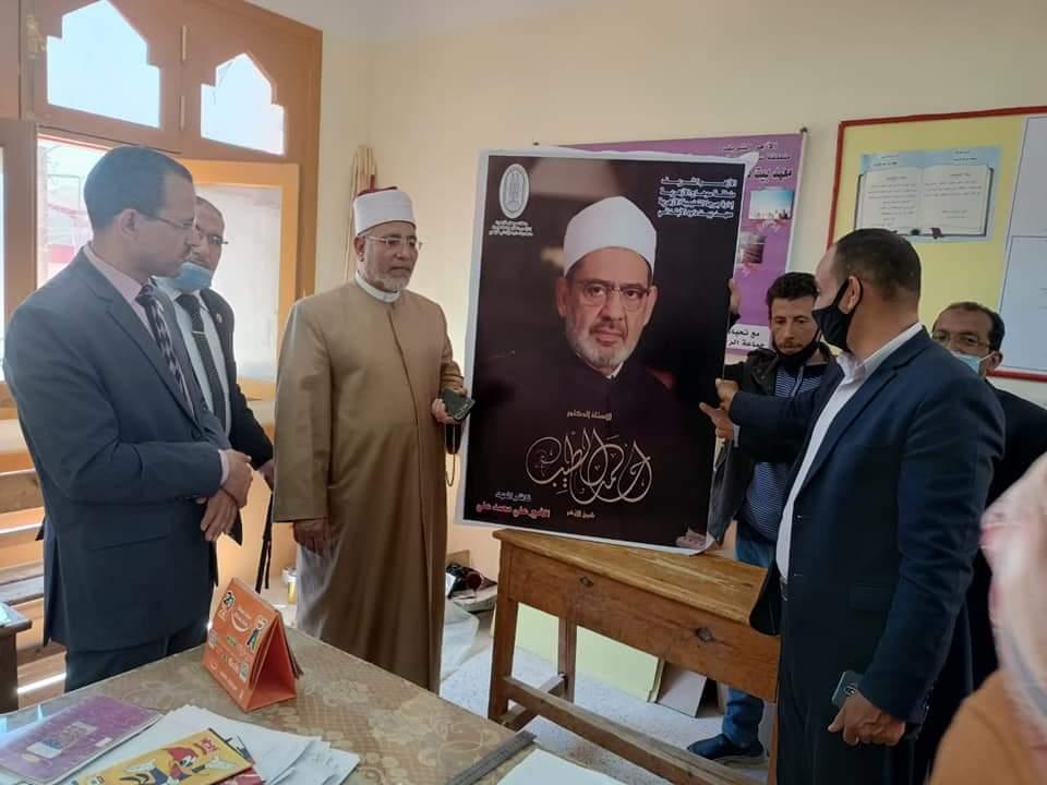 رئيس منطقة سوهاج الأزهرية يواصل متابعاته الميدانية للمعاهد المرشحة لضمان الجودة