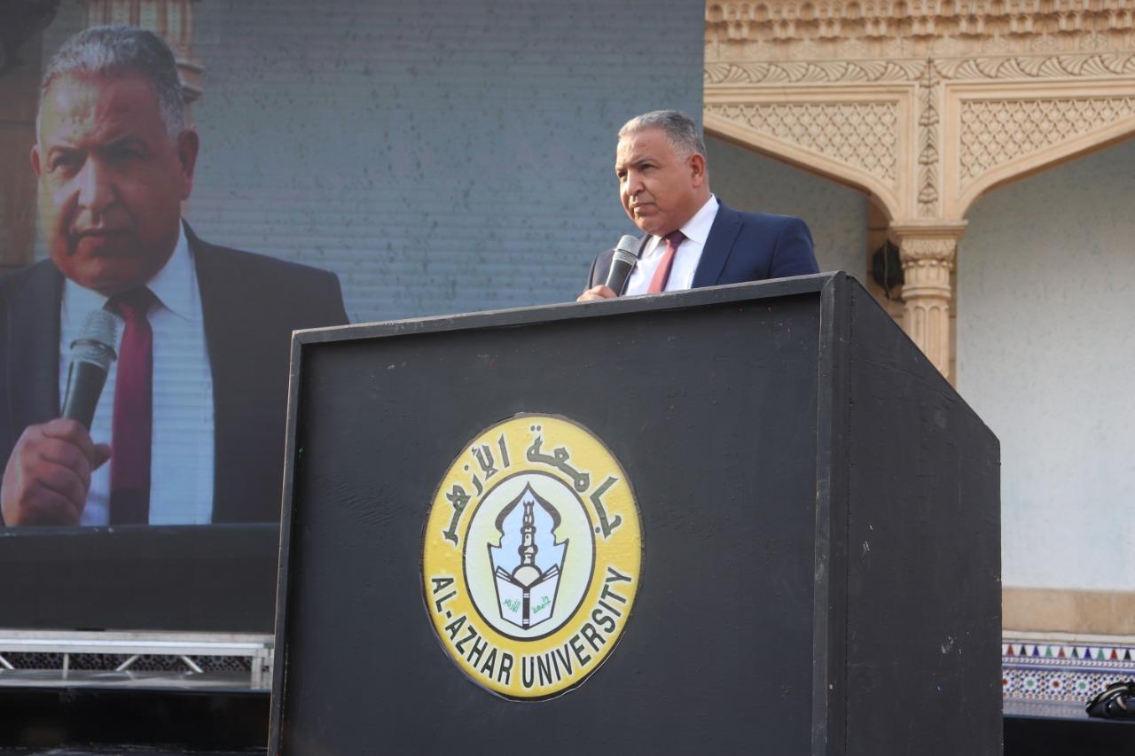 نائب رئيس جامعة الأزهر يشيد بجهود الأطباء في مواجهة جائحة كورونا