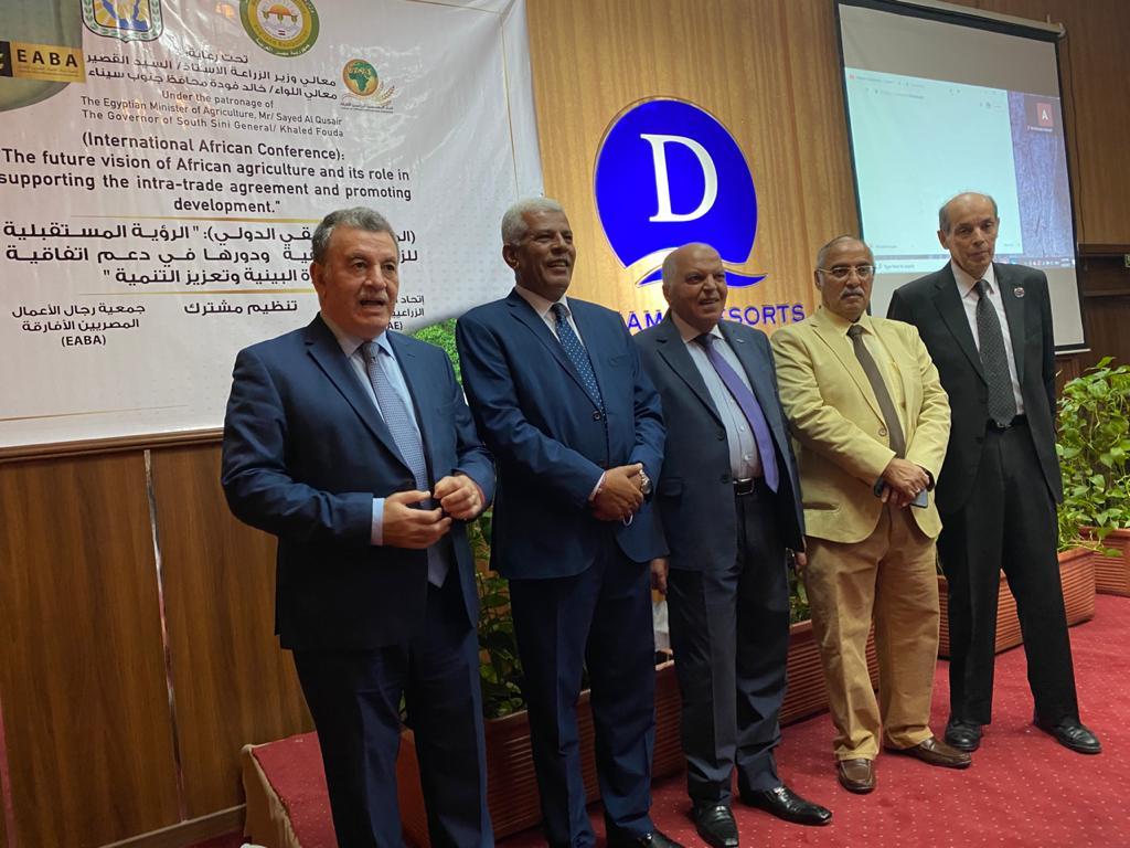 الزناتى : مصر تنفذ جهود هائلة لتحقيق التنمية الزراعية