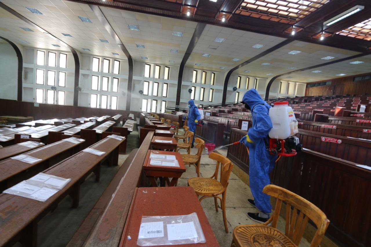جامعة المنصورة تكشف خطتها الزمنية لامتحانات التيرم الثاني