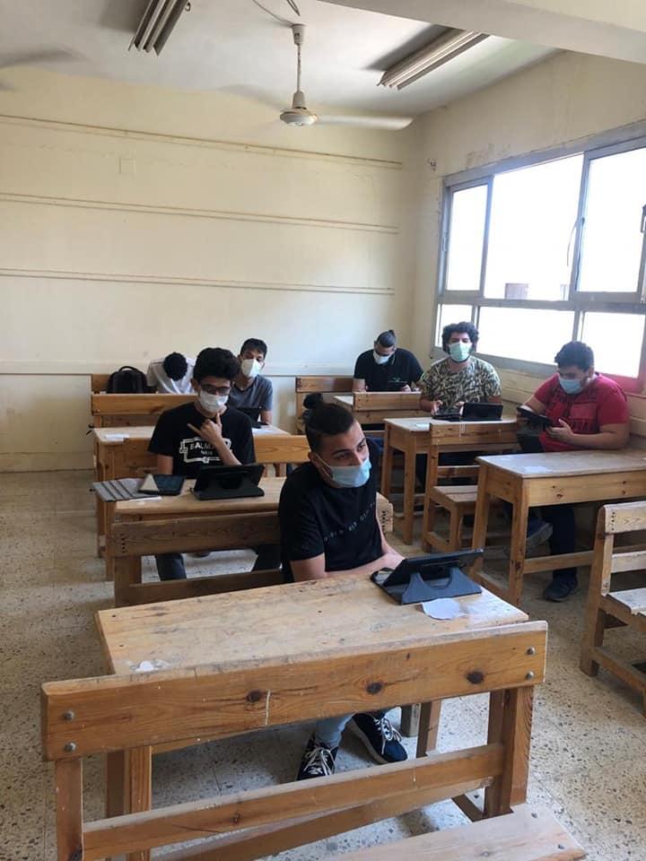 ننشر الصور الأولى للامتحان التجريبي لطلاب الثانوية العامة