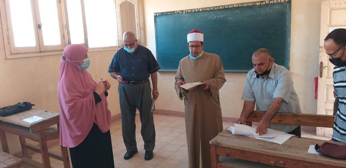 رئيس المنوفية الأزهرية يتابع انتظام سير أعمال امتحانات القراءات
