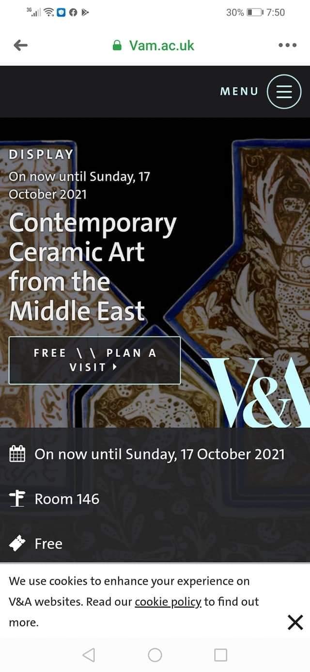 اختيار أعمال الفنان ضياء داوود ضمن مقتنيات معرض متحف فيكتوريا