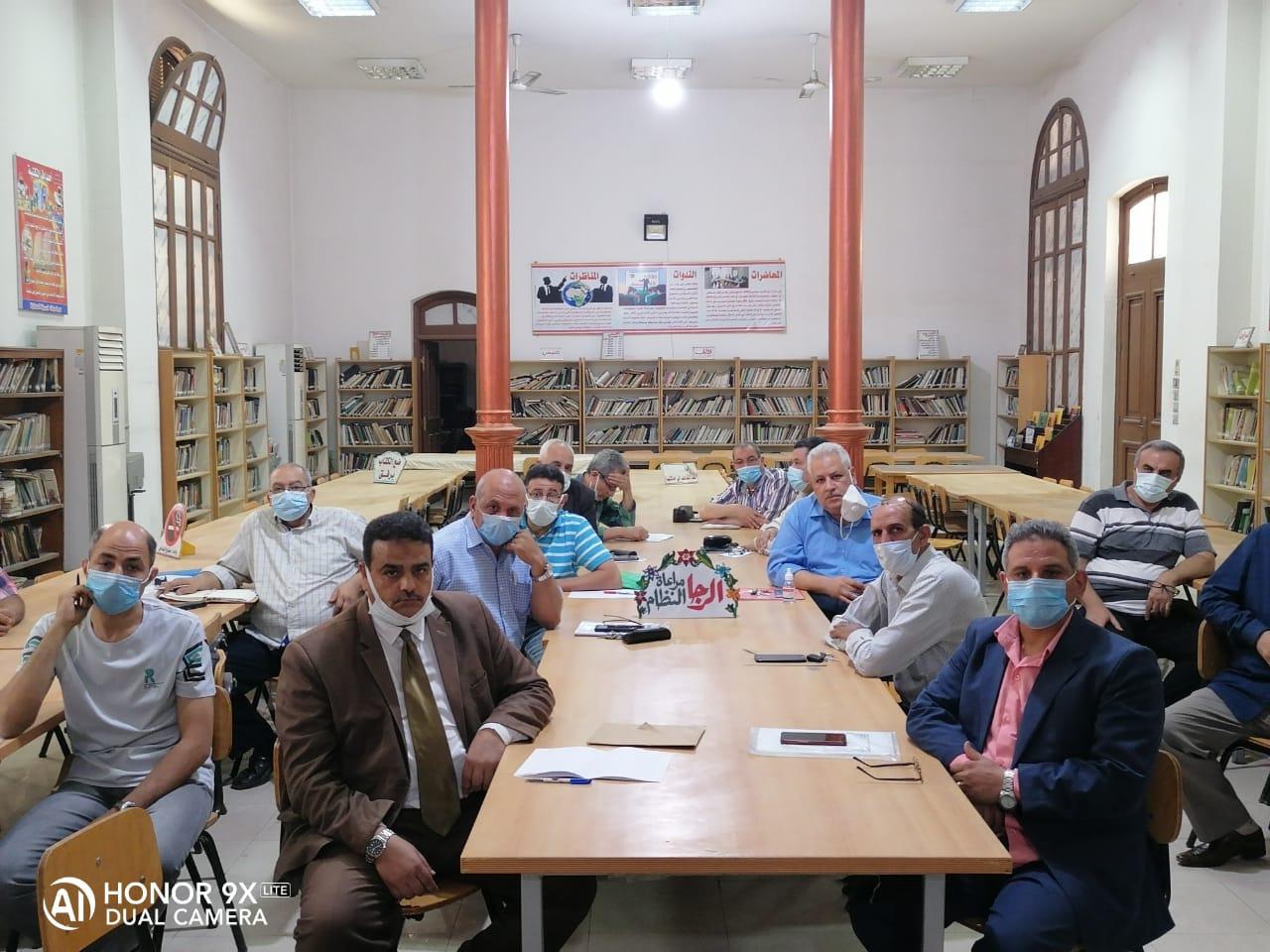 توجيهات مهمة لرؤساء لجان النظام والمراقبة بامتحانات الشهادة الإعدادية