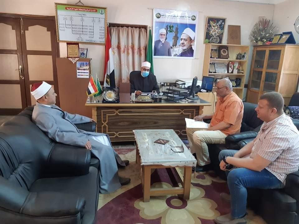 منطقة المنيا الأزهرية تستعد لامتحانات نقل وشهادات القراءات
