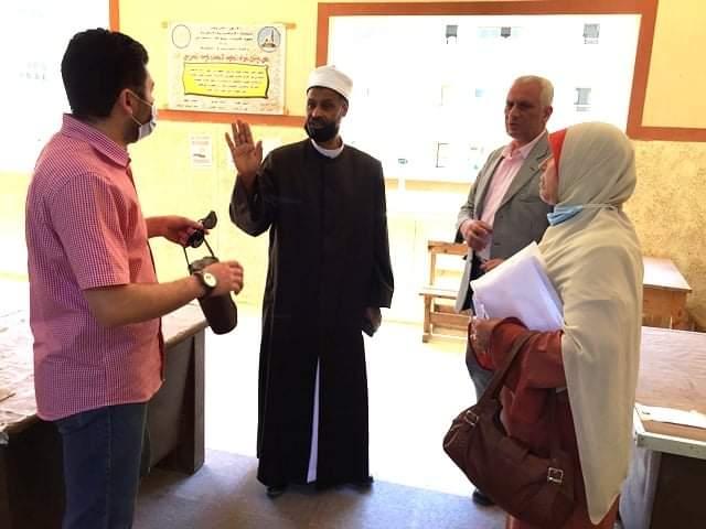 رئيس الإسكندرية الأزهرية يتابع الاستعدادات لامتحانات القراءات
