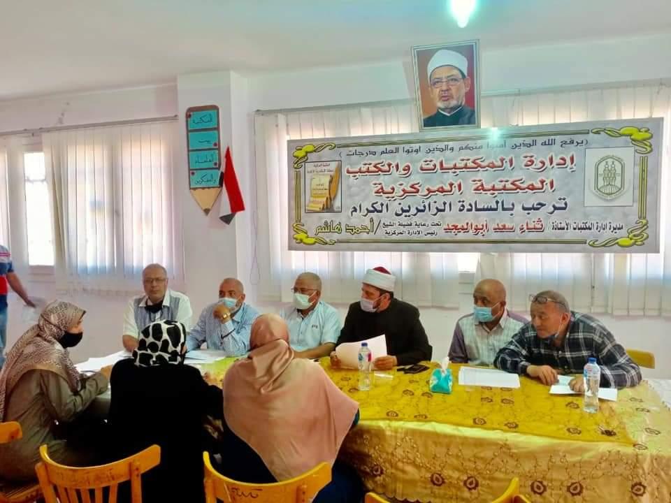الإسكندرية الأزهرية تعقد مقابلات للمتقدمين للعمل رؤساء ومساعدين للجان الشهادة الثانوية