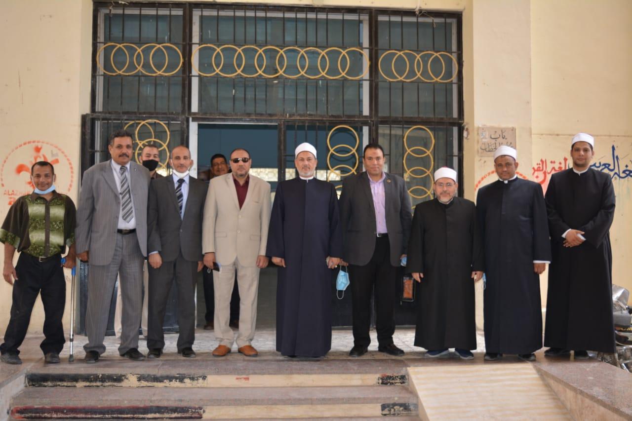 تدريب لأئمة الأوقاف بكلية اللغة العربية بأسيوط