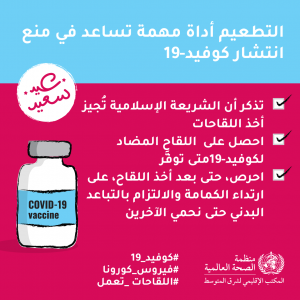 نصائح منظمة الصحة العالمية خلال عيد الفطر للوقاية من كورونا