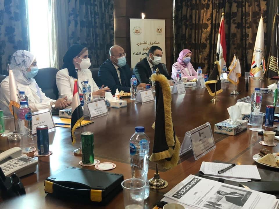 تطوير التعليم بمجلس الوزراء يوقع مذكرة تفاهم مع مجموعة أبوغزالة العالمية