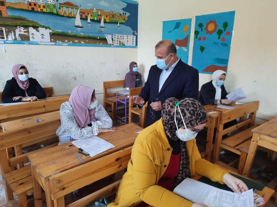 تعليم الدقهلية: ١٠٥ ألف طالب بالشهادة الإعدادية أدوا اليوم امتحان اللغة الأجنبية