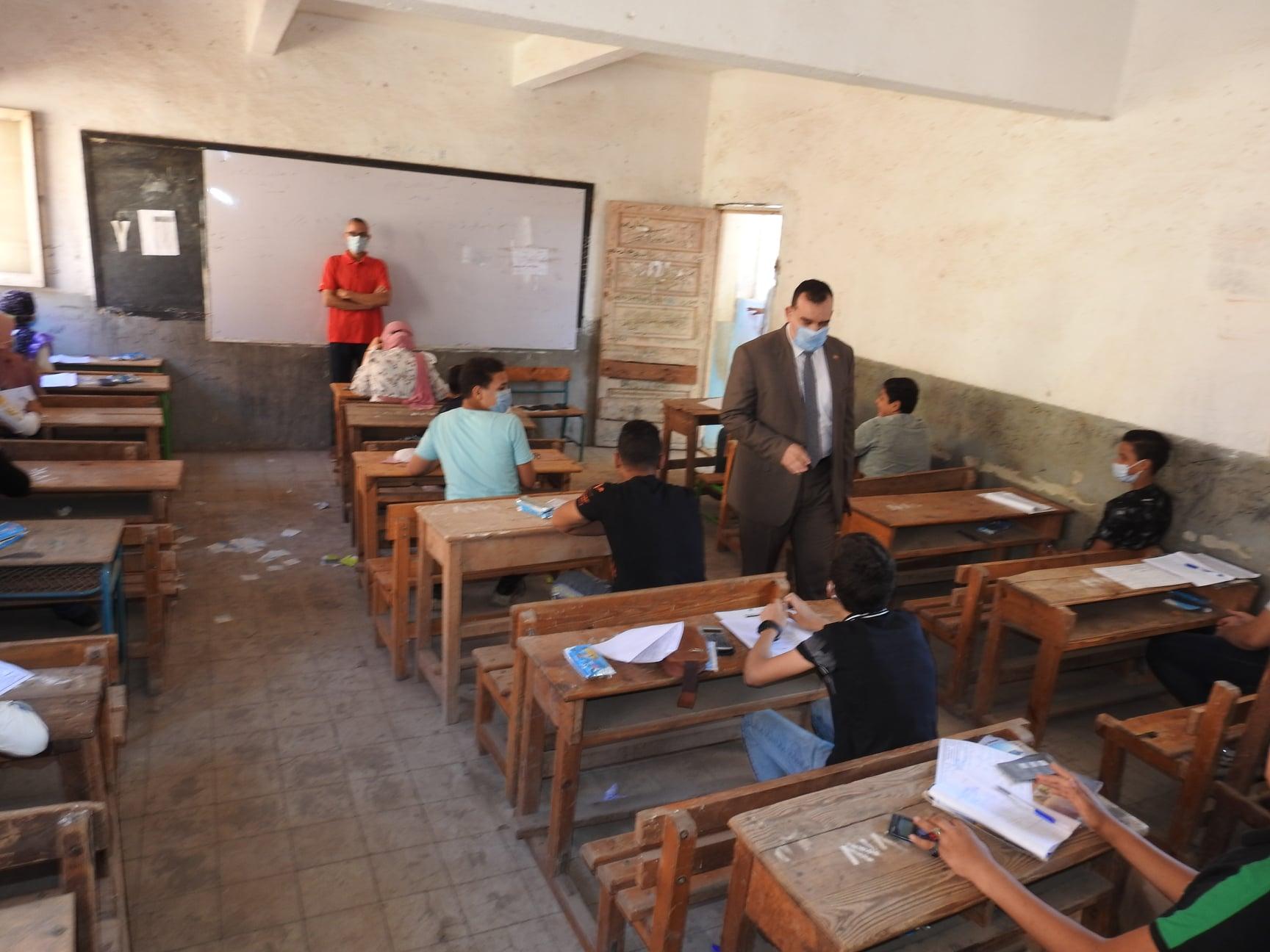 تعليم المنوفية: 99.62% نسبة حضور طلاب الإعدادية لليوم الثاني من اختبارات الدور الأول