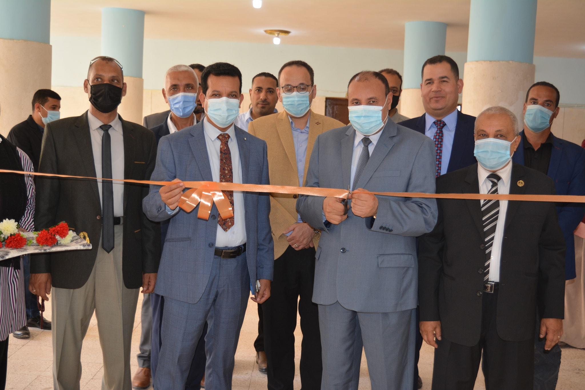 نائب رئيس جامعة الأزهر يفتتح قاعة وحدة ضمان الجودة والتدريب ومكتبة بكلية البنات بالمنيا