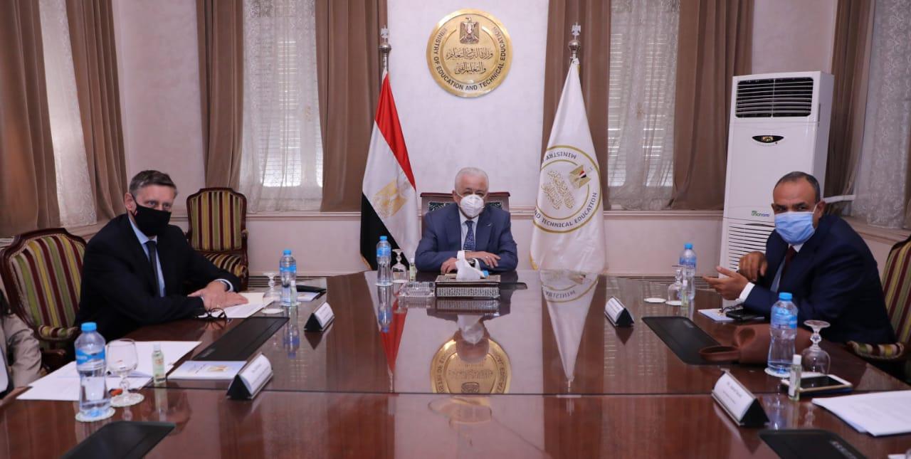 """""""التعليم"""": الاتفاق على تدريب 100 ألف طالب مصري للعمل في ألمانيا"""