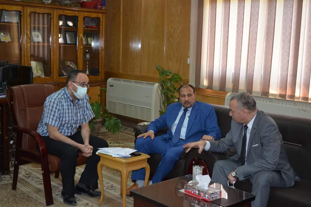 نائب أزهر أسيوط يبحث سبل التعاون مع مدير عام فرع وسط الصعيد للتأمين الصحي