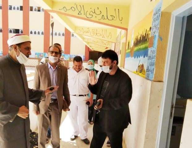 رئيس أزهر الإسكندرية يتفقد لجان امتحانات الثانوية لليوم الرابع