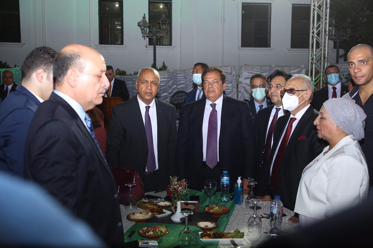 أبو العينين يشارك في احتفالية حزب الوفد بالذكرى الثامنة لثورة ٣٠ يونيو