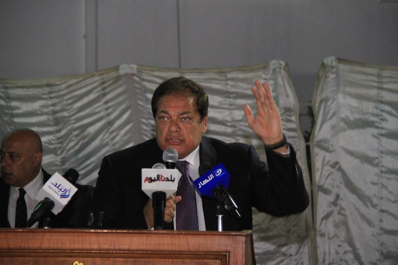 أبو العينين خلال احتفالية حزب الوفد بذكرى ٣٠ يونيو: الثورة كانت فاتحة خير على مصر والمنطقة بأكملها