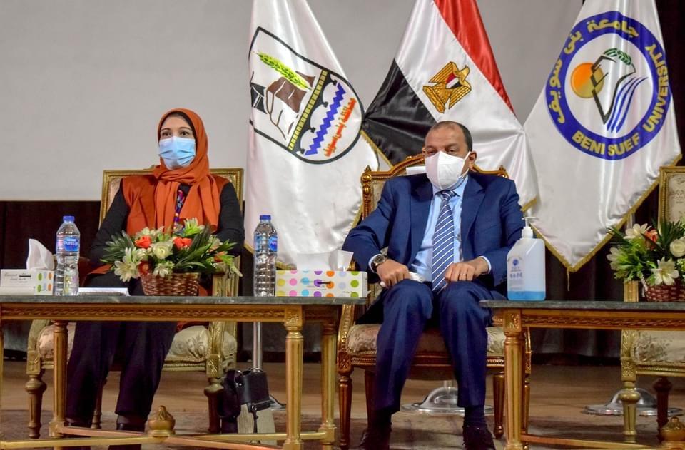 تخصيص مقر دائم للمجلس القومي للمرأة داخل جامعة بني سويف