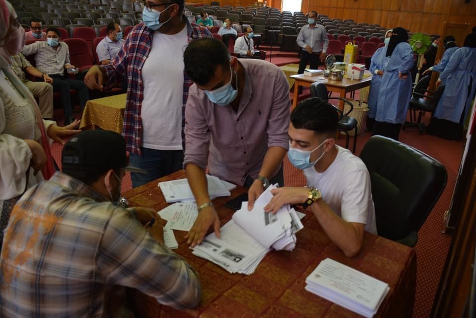 جامعة بورسعيد تطلق مبادرة حملة تطعيم ضد فيروس كورونا
