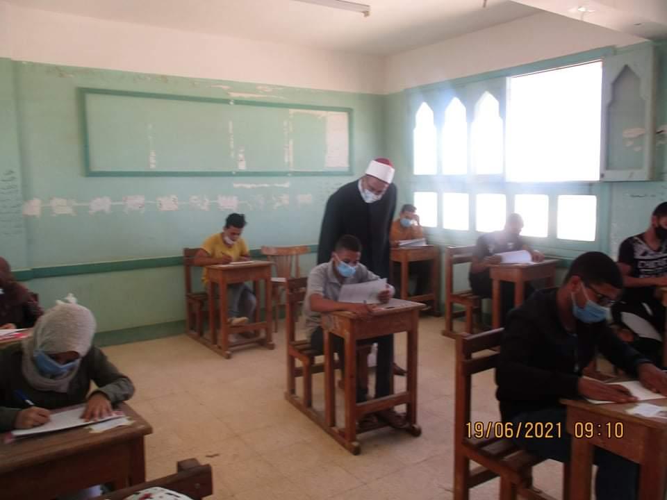 أزهر جنوب سيناء.. إجراءات احترازية مشددة في أول أيام امتحانات الثانوية ٢٠٢١