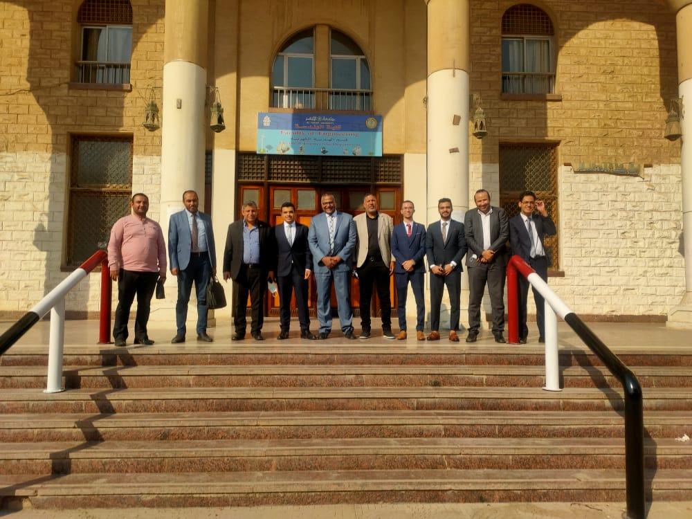 مشاريع تخرج طلاب هندسة الأزهر تساهم في تحقيق رؤية مصر 2030