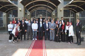 """إيهاب توفيق يغني """"أحلف بسماها"""" في احتفالية جامعة حلوان بذكرى ثورة 30 يونيو"""