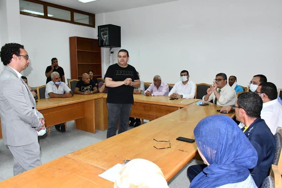 جامعة قناة السويس تواصل خطتها لميكنة القطاعات والتحول الرقمي