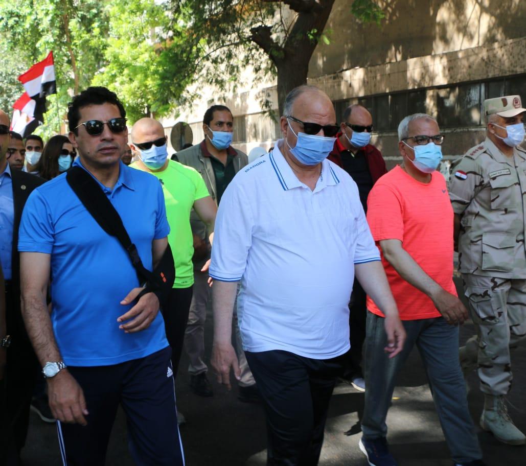أشرف صبحي: مصر تشهد مرحلة غير مسبوقة في البناء والتطوير على كافة المستويات